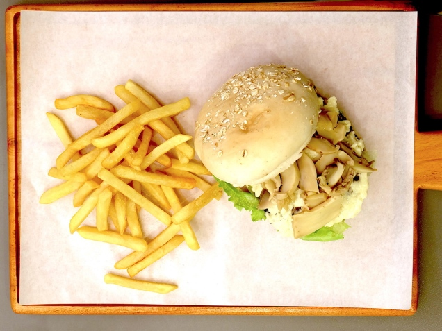 Thunder Burger at Red Corner Burger Davao